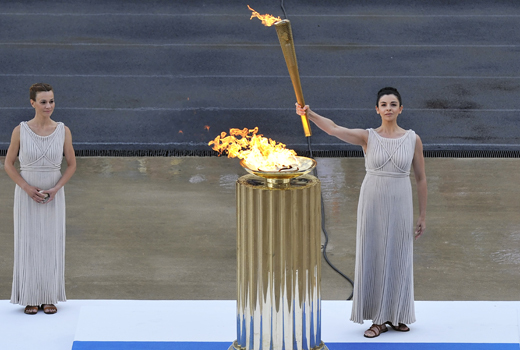 The 2016 Olympic Torch's Journey