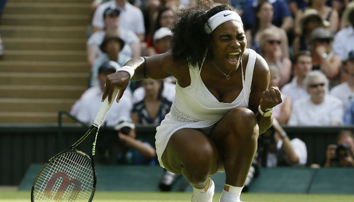 Serena Got Enough Wimbledon Plates to Serve Your Whole Family Dinner.