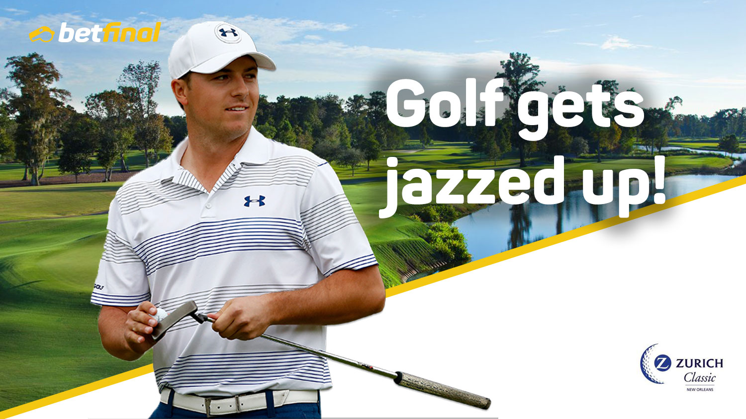 Music, Food, Passion and Golf – PGA Tour: Zurich Classic, Thursday 26th April – Sunday 29th April.