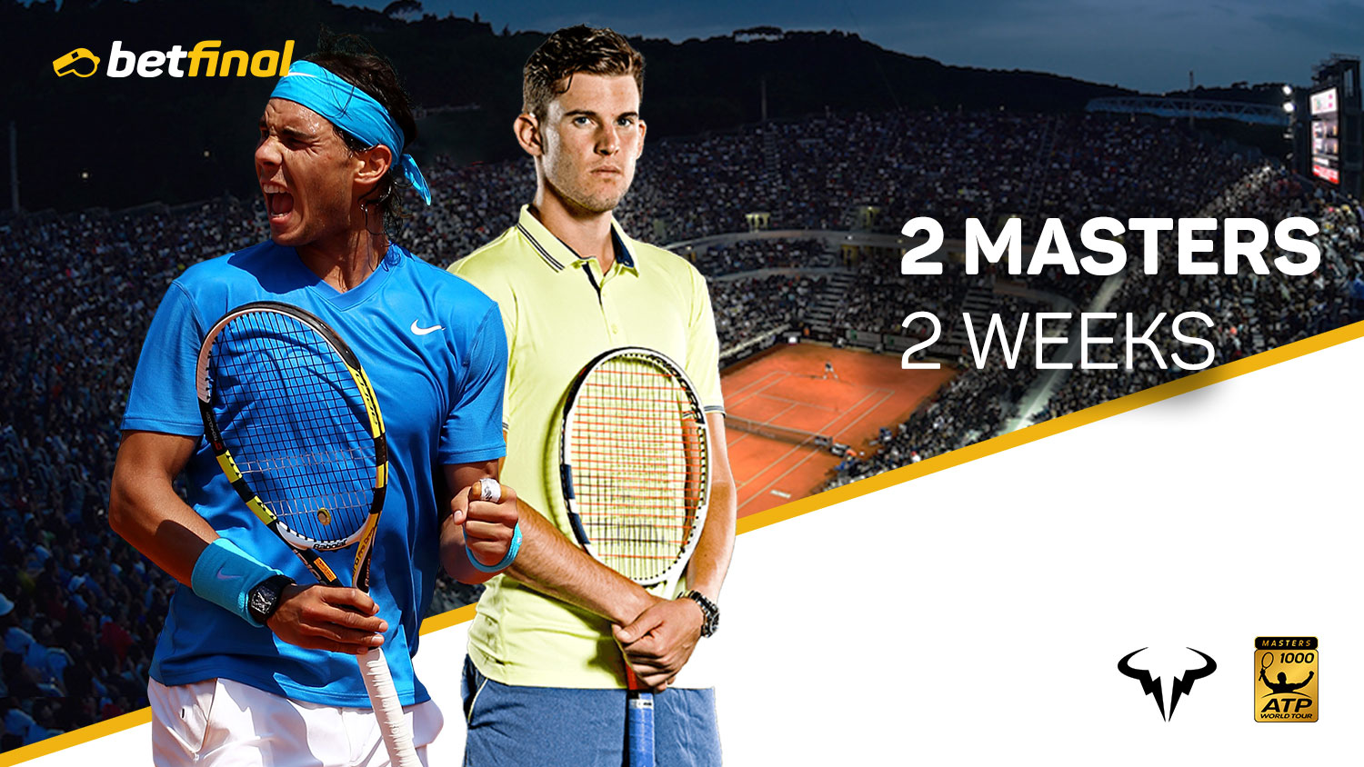 Two Masters In Two Weeks Rome Open Atp World Tour Masters 1000
