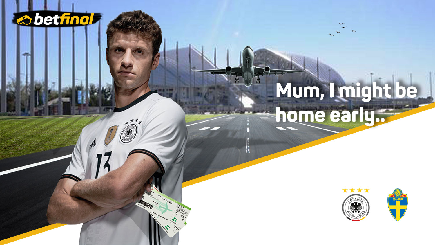 Germany Vs Sweden, Group F – FIFA World Cup 2018 Russia, Fisht Olympic Stadium. 23rd June 8pm.